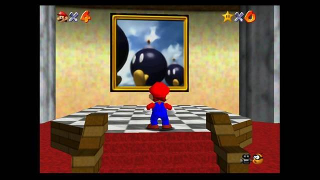 Mundo 1: Bob-Omb Battlefield en Mario 64 -  Estrellas y 100%