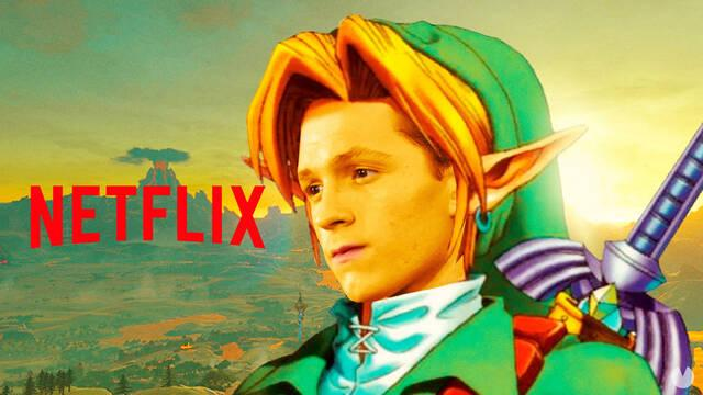 Tom Holland es Link en The Legend of Zelda de Netflix