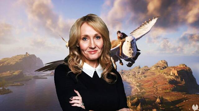 J.K. Rowling no participa en Hogwarts Legacy