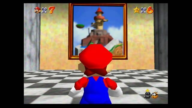 Mundo 2: Whomp's Fortress en Mario 64 -  Estrellas y 100%