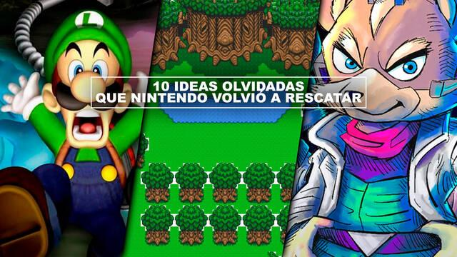 10 ideas olvidadas que Nintendo volvió a rescatar