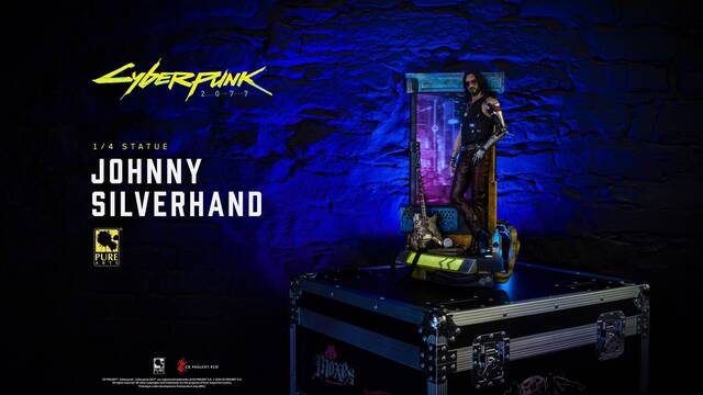 Cyberpunk 2077 figura Johnny Silverhand Keanu Reeves