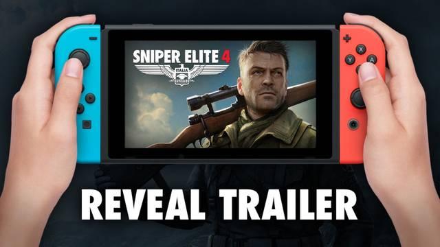 Sniper Elite 4 anunciado para Switch.