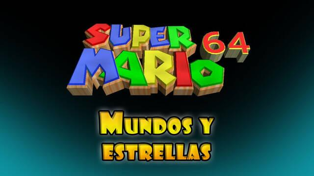 Super Mario 64: Todos los mundos al 100% y estrellas