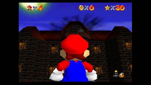 Mundo 5: Big Boo's Haunt en Mario 64: Estrellas y 100%