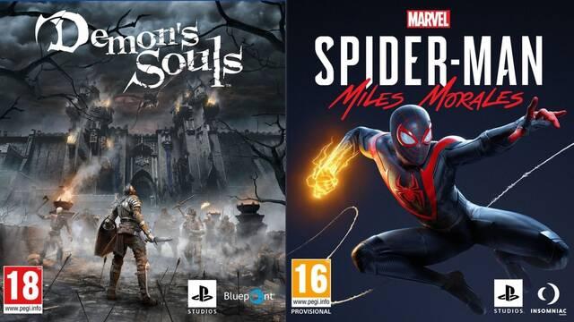 Demon's Souls Remake Spider-Man Miles Morales tamaño