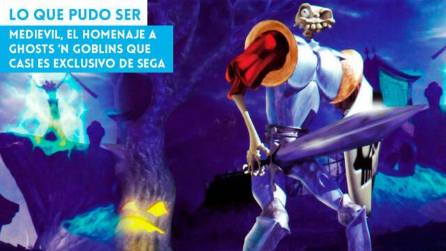 MediEvil, el homenaje a Ghosts 'n Goblins que casi es exclusivo de Sega