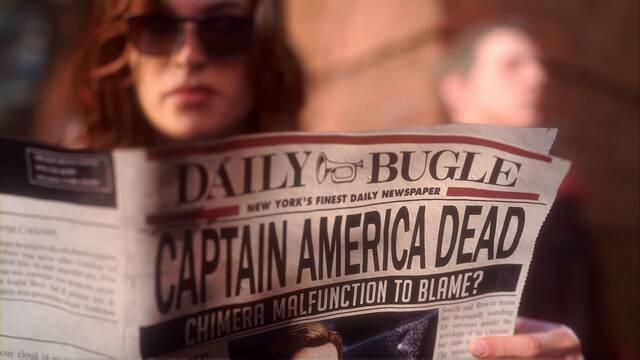 Ahora esto es normal al 100% en Marvel's Avengers