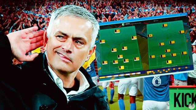 José Mourinho juega a Football Manager