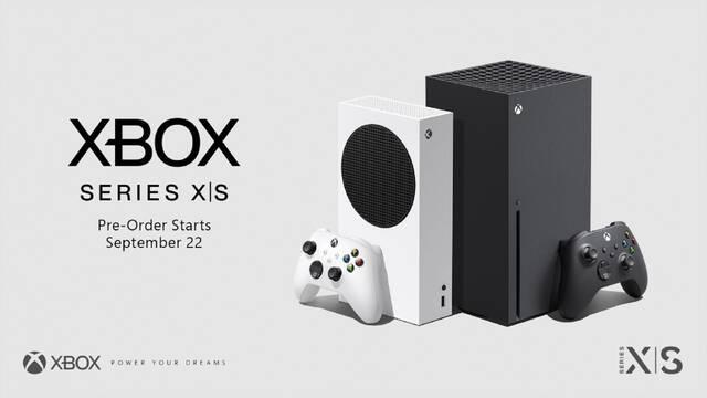 Xbox Series X/S reservas hora día