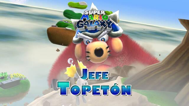 Topetón en Super Mario Galaxy: ¿Cómo derrotarlo?