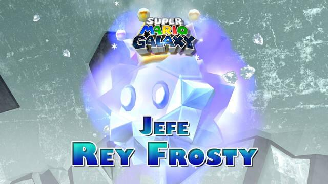 Rey Frosty en Super Mario Galaxy: ¿Cómo derrotarlo?