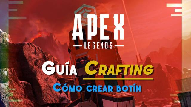 Apex Legends: Guía de Crafting, cómo extraer materiales y crear objetos