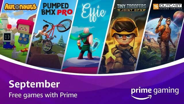 Amazon Prime Gaming Juegos gratis septiembre