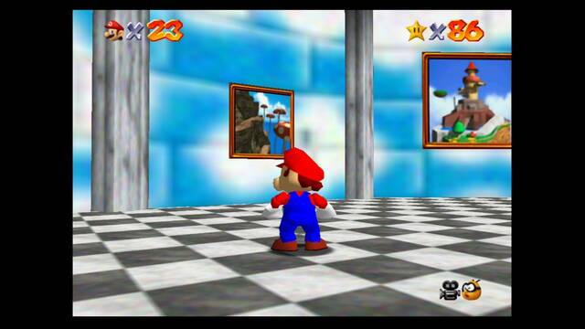 Mundo 12: Tall, Tall Mountain en Super Mario 64 - estrellas y 100%