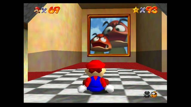 Mundo 13: Tiny-Huge Island en Super Mario 64 - estrellas y 100%