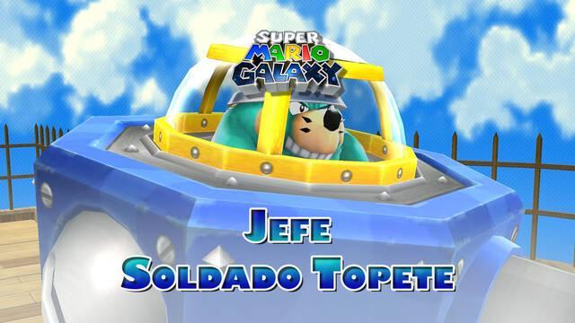 Soldado Topete en Super Mario Galaxy: ¿Cómo derrotarlo?