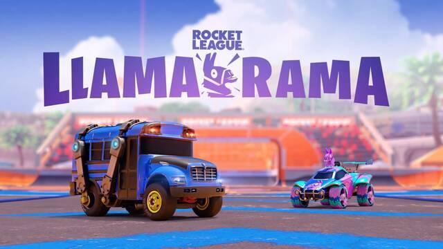 Evento Llama-Rama en Rocket League.