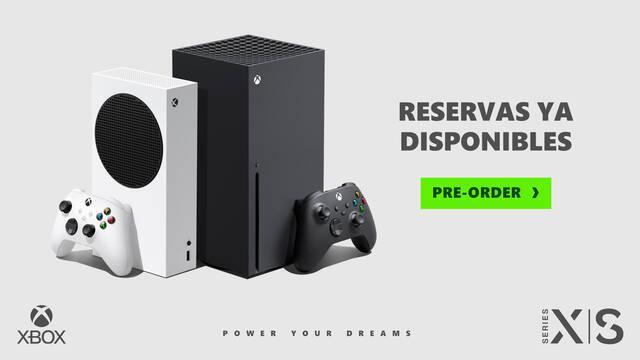 Ya se puede reservar Xbox Series X y S en España.