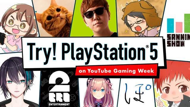 PS5 youtubers prueban PlayStation 5 octubre