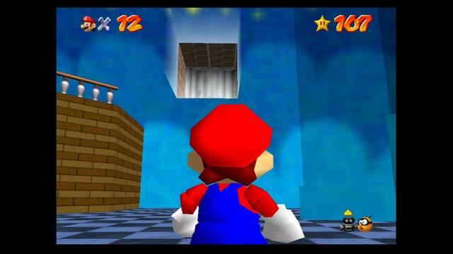 Mundo 15: Rainbow Ride en Super Mario 64 - estrellas y 100%