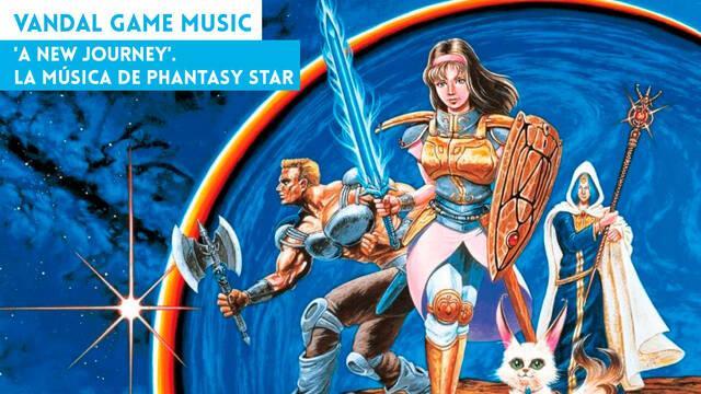 'A New Journey'. La música de Phantasy Star