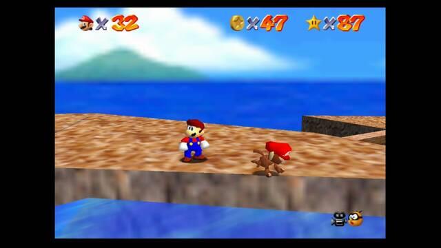 Cómo recuperar la gorra al perderla en Super Mario 64
