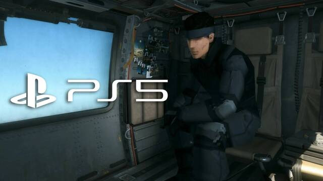 Posible remake de Metal Gear Solid para PS5 y PC.