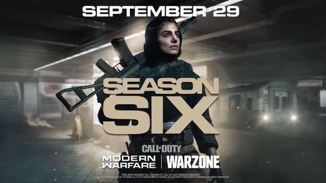 Call of Duty MW y Warzone: Temporada 6, fecha, detalles y novedades