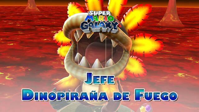Dinopiraña de Fuego en Super Mario Galaxy: ¿Cómo derrotarla?