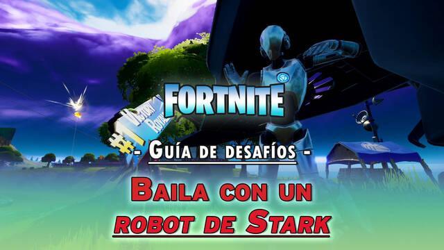 Desafío Fortnite: Márcate un baile con un robot de Stark - SOLUCIÓN