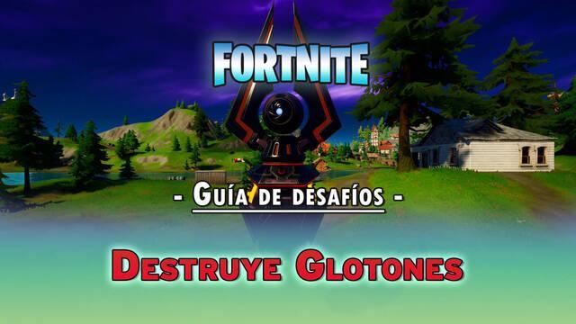 Desafío Fortnite: Destruye Glotones - SOLUCIÓN
