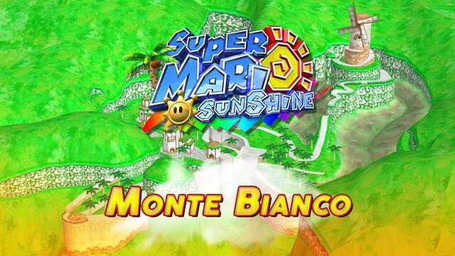 Mundo 1: Monte Bianco en Super Mario Sunshine al 100% y Soles