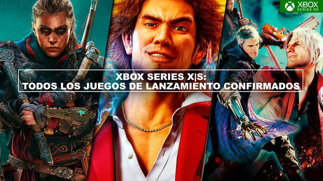Xbox Series X/S: Todos los juegos de lanzamiento confirmados