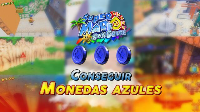 Cómo conseguir Monedas Azules en Super Mario Sunshine