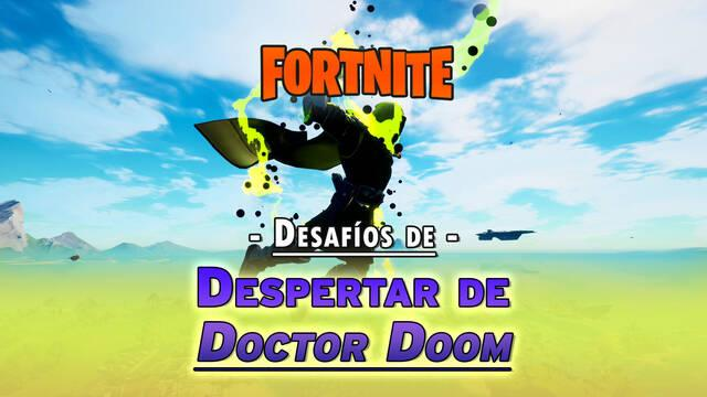 Desafíos de Despertar de Doctor Doom en Fortnite: solución y recompensas