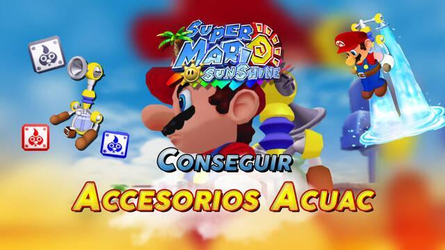 Super Mario Sunshine: ¿Cómo conseguir todos los accesorios del Acuac?