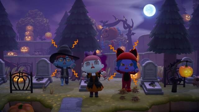 Actualización de Halloween de Animal Crossing: New Horizons.
