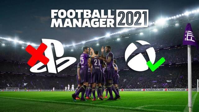 Sports Interactive explica por qué Football Manager 2021 saldrá en Xbox pero no en PlayStation.