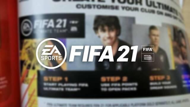 EA Sports anuncia los micropagos de FIFA 21 en tiendas de juguetes.