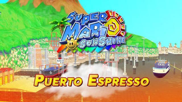 Mundo 2: Puerto Espresso en Super Mario Sunshine al 100% y Soles