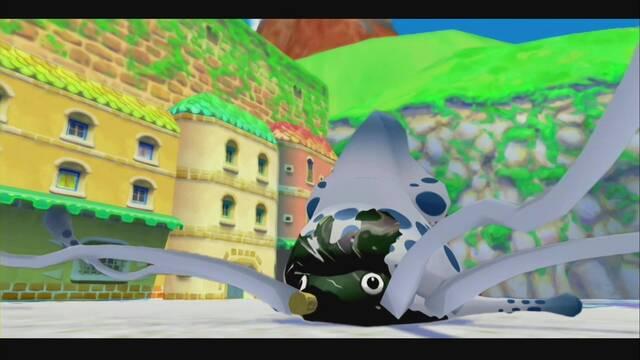 Mega Blooper en Super Mario Sunshine: ¿Cómo derrotarlo?
