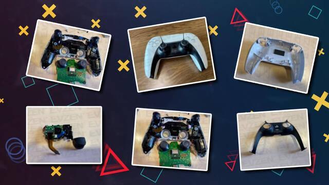 PS5: DualSense desmontado
