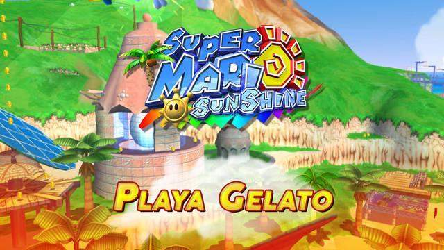 Mundo 3: Playa Gelato en Super Mario Sunshine al 100% y Soles