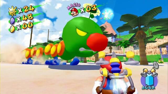 Floruga en Super Mario Sunshine: ¿Cómo derrotarlo?
