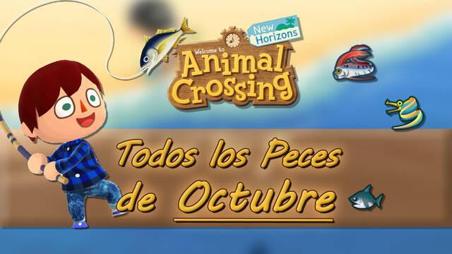 Peces disponibles en Octubre 2020 en Animal Crossing: New Horizons