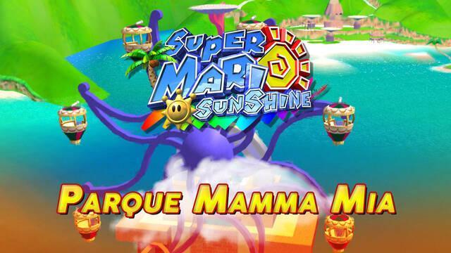 Mundo 4: Parque Mamma-Mia en Super Mario Sunshine al 100% y Soles