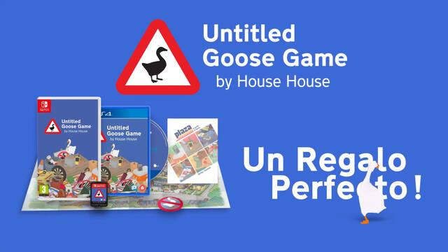 Untitled Goose Game llega en físico