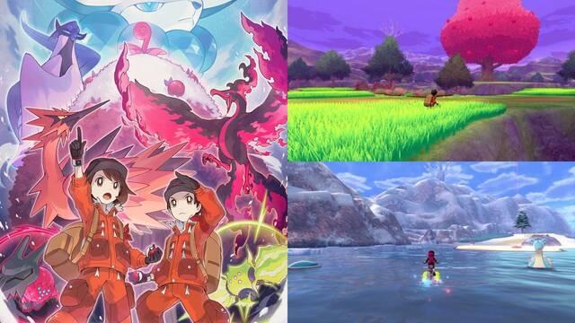 Pokémon Espada y Escudo Las nieves de la corona fecha de lanzamiento