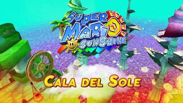 Mundo 6: Cala del Sole en Super Mario Sunshine al 100% y Soles